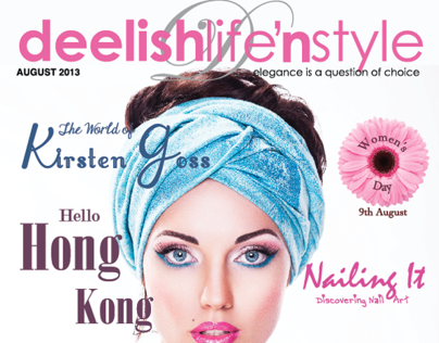Deelish Magazine August 2013 Edition