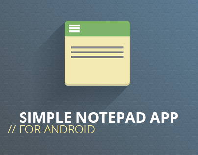 Codebuild Notepad app for Android