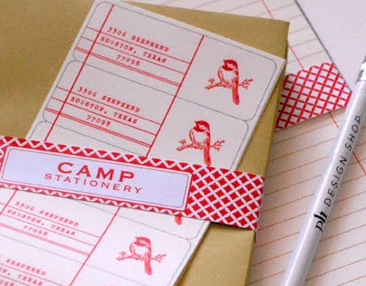 PH Design Shop Camp Stationery