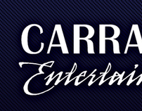 Carrasco Entertainment Business Cards