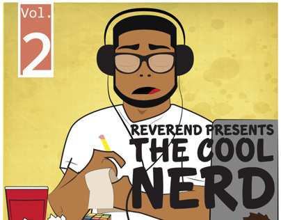 The Cool Nerd Vol. 2 Album Art