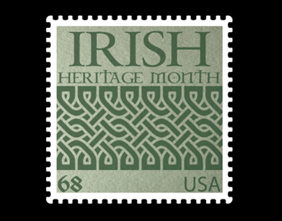 Irish Heritage Month Stamps