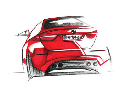 Daily Automobile sketches