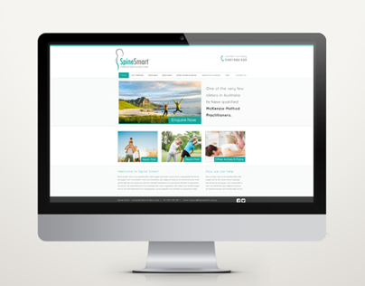 Spine Smart - Website Design
