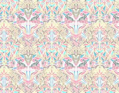 Wallpaper pattern design 16 Edouard Artus ©2012
