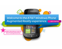 AT&T Windows 7 Phone Augmented Reality