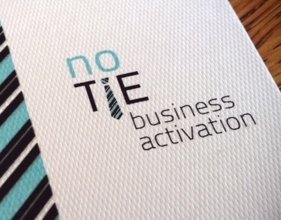 No Tie // Business Activation