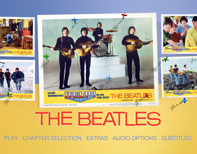 The Beatles, Help Blu-ray Menus (no audio)
