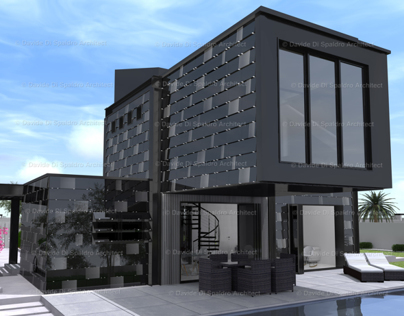 BLACK CRYSTAL HOUSE, private residence