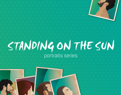Illustration - Standing On The Sun (portrait series)