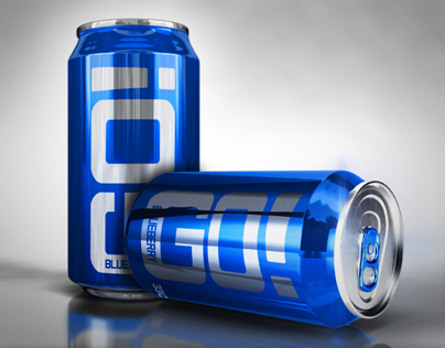 Photorealistic Soda Can Mock-Up for Photoshop