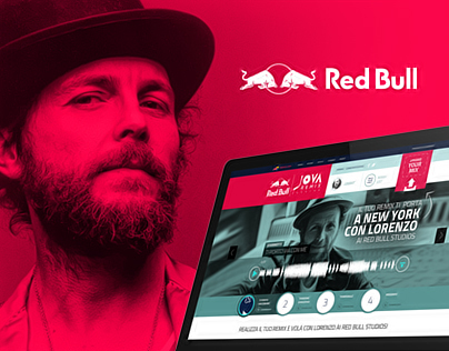 Red Bull Jova Remix Session Web & Mobile