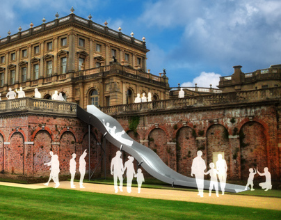 Cliveden House :: Slide to save the South Terrace