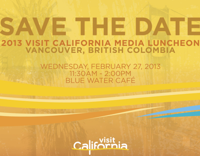 Visit California Digital Invites