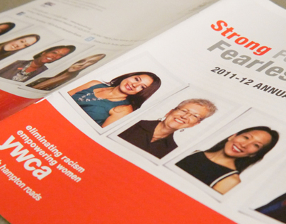 YWCA Annual Report and Holiday Design