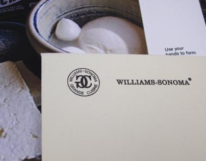 Williams-Sonoma Brochures
