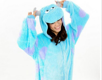 sulley cheap onesies www.pajama-sale.com