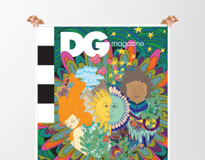 DG Magazine Illustration