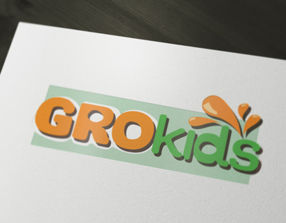 GroKids Packaging & Branding