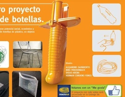 Innovar 2012 / Tool for recycling PET bottles