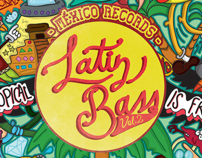 Cover Ep Latin Bass vol. 2