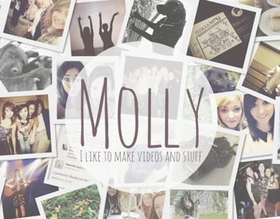 Molly Reed YouTube Channel Art