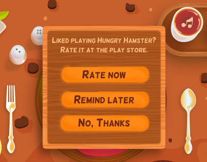 Game UI - Hungry Hamster