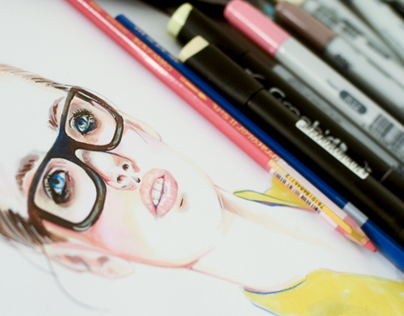 Girl in Glasses