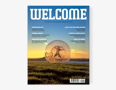 Welcome magazine