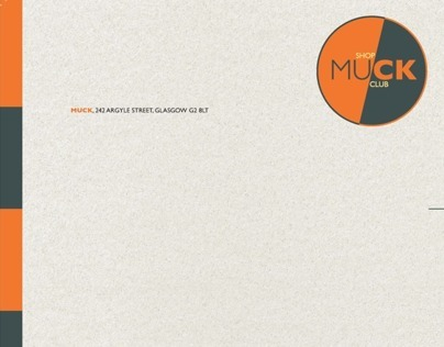 MUCK Corporate Design