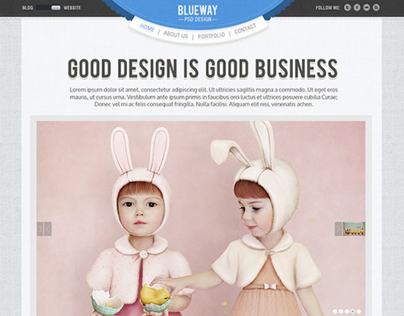 BlueWay Responsive Template