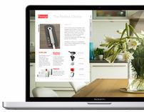 Prestige Housewares Website