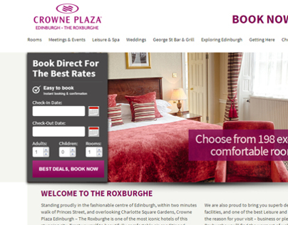Crowne Plaza - Edinburgh - The Roxburghe
