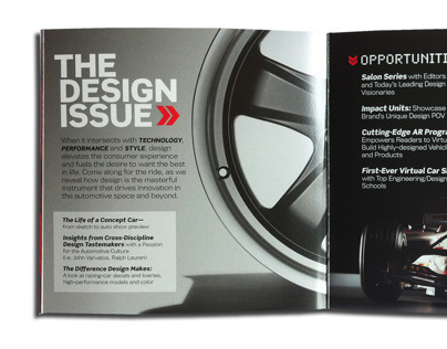 Road&Track Design Issue Sell Booklet