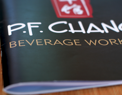 PF CHANG'S BEVERAGE WORKBOOK
