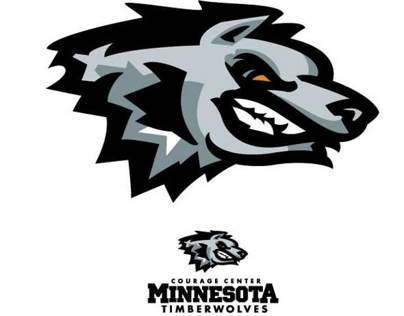Minnesota Timberwolves - Courage Center logo