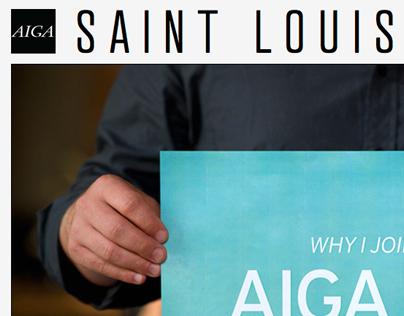 AIGA Saint Louis Chapter Website