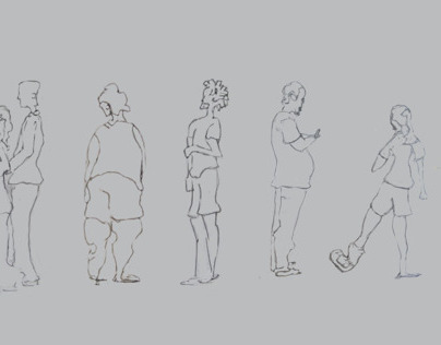 Gesture Drawings: June