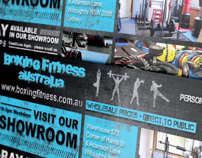 Boxing Fitness Australia - flyer