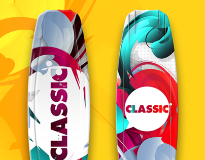 Wakeboard graphics