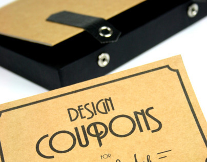 Design Coupons - gift box