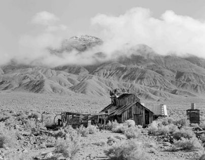 Black and White Images of the (not so) Old West-Nevada