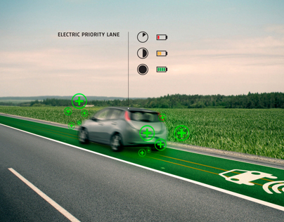 Smart Highway Road 66 of the future
