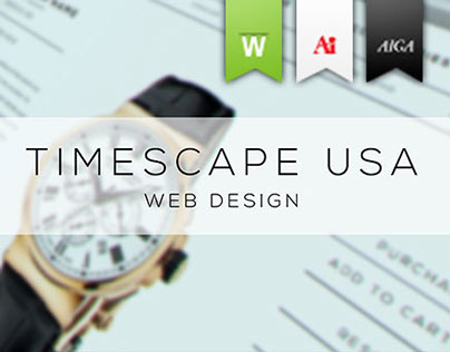 Timescape USA : Front End Web Design