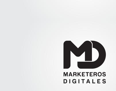 Logotipo Marketeros Digitales