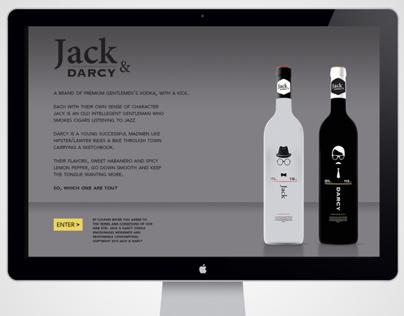 Jack & Darcy                 Premium Gentlemens Vodka