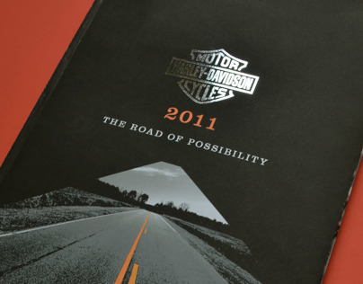 Harley-Davidson 2011 Annual Report Redesign