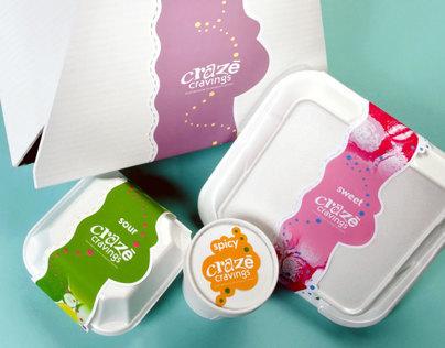 Crazy Cravings Packaging