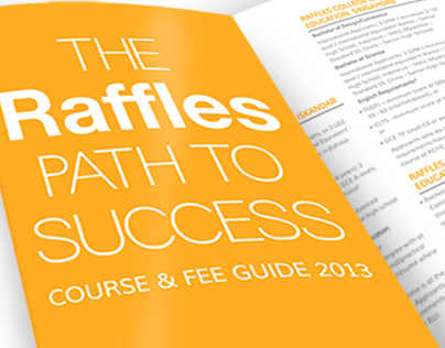 Course & Fee Guide Flyer