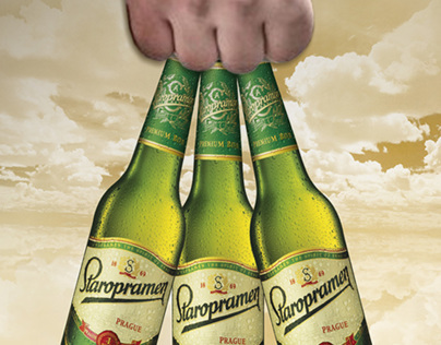 Packaging bag/ Staropramen